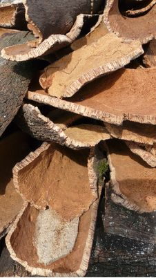 Cork S Stack Stock Photography