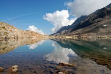 Mountain Mirror 1 Royalty Free Stock Photo