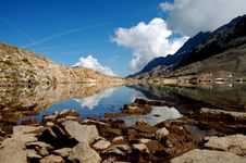 Mountain Mirror 2 Stock Images