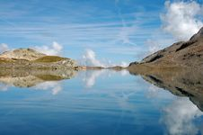 Mountain Mirror 3 Stock Image