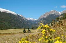 Free Rocky Mountain Landscape From Moraine Park Stock Photography - 6609802