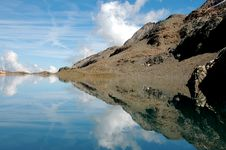 Mountain Mirror 4 Stock Image