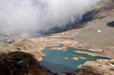 Free Foggy Mountain Royalty Free Stock Photos - 6609888