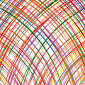 Free Abstract Rainbow Curved Stripes Color Line Art Vector Background Royalty Free Stock Photos - 66033248