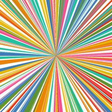 Free Abstract Rainbow Curved Stripes Color Line Zoom Background Royalty Free Stock Images - 66033549