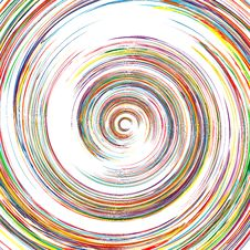 Abstract Spiral Lines Color Vector Background Stock Images