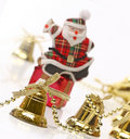 Free Happy Santa Over A Gift Box Royalty Free Stock Photography - 6610607