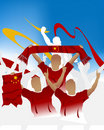 Free Chinese Crowd Stock Images - 6616764