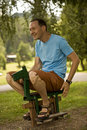 Free Happy Man Horse Riding Stock Photos - 6618173