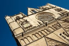 Free Saint Jean Cathedral Facade (Lyon) Royalty Free Stock Photo - 6610065