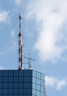 Free Communications Aerial Royalty Free Stock Image - 6610476