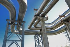 Free Industrial Pipelines Royalty Free Stock Photos - 6610698
