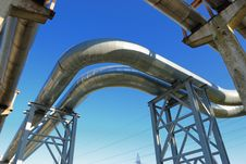 Free Industrial Pipelines Stock Photography - 6610712