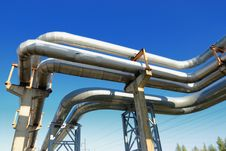 Free Industrial Pipelines Royalty Free Stock Photos - 6610728