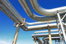 Free Industrial Pipelines Stock Images - 6610854