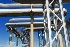 Free Industrial Pipelines Stock Photography - 6610872