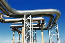 Free Industrial Pipelines Stock Images - 6610894