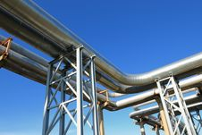 Free Industrial Pipelines Stock Photography - 6610912