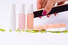 Free Fingernail Cosmetic Royalty Free Stock Images - 6611069