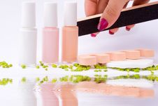 Free Fingernail Cosmetic Stock Photography - 6611082
