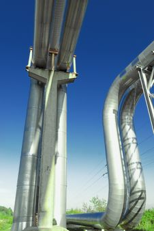 Free Industrial Pipelines Stock Images - 6611094