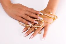 Free Fingernail Cosmetic Royalty Free Stock Photos - 6611118