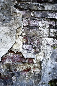 Free Texture Of An Old Brick Wall Stock Images - 6611264