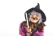 Free Witch Doll. Royalty Free Stock Image - 6611916