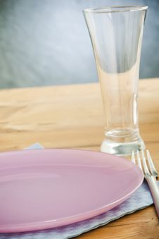 Empty Plates Stock Photography