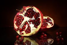 Free Pomegranate Fruit Stock Image - 6612411