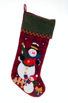 Free Christmas Stocking Stock Image - 6612961