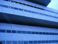 Free Blue Office Building Stock Photos - 6613063