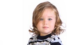 Beauty A Little Girl Royalty Free Stock Photography