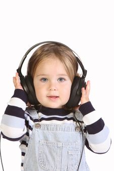 Free Girl Listening Music Royalty Free Stock Photo - 6613775