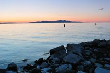 Free View Of The Antelope Island Royalty Free Stock Images - 6613789