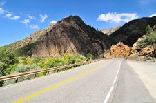 Free Highway To The Cottonwood Canyon Royalty Free Stock Image - 6613816