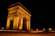 Arc De Triomphe II Stock Images