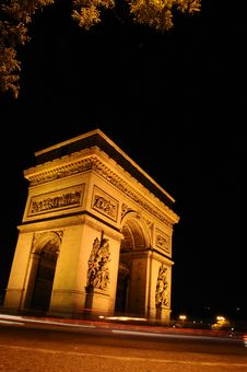 Arc De Triomphe II Royalty Free Stock Images