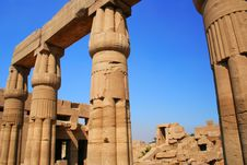 Luxor Ruins Stock Images