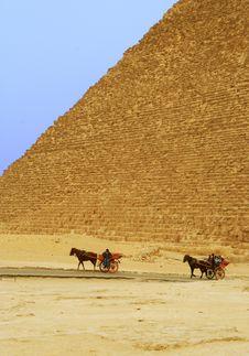 Free Giza Pyramid In Close Up Royalty Free Stock Photos - 6614238