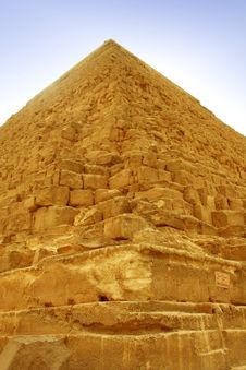 Free Giza Pyramid In Close Up Stock Photos - 6614243