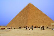 Free Fabulous Pyramid Royalty Free Stock Photos - 6614248