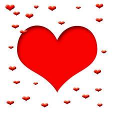 Free Valentine Scrapbook Frame Stock Images - 6614284