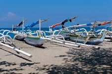 Free Boats On The Beach Stock Photo - 6614490
