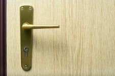 Free Door Handle. Stock Image - 6615181