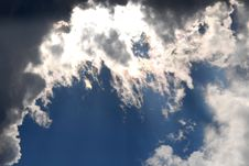 Free Cloudy And Blue Sky Stock Images - 6615194
