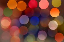 Free Christmas Blur Background Royalty Free Stock Photos - 6615458