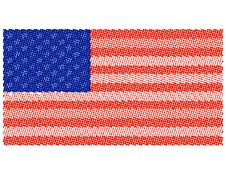 Free USA Flag Royalty Free Stock Photo - 6615865