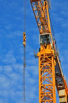 Free Construction Crane Stock Images - 6615964