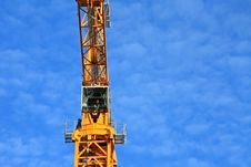 Free Construction Crane Stock Photography - 6616032